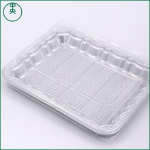aluminum Plastic tray food use sushi packaging silver blister tray 2017 new design aluminum Plastic tray