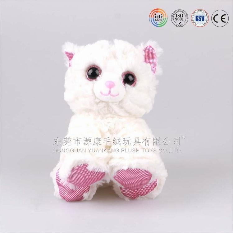Hot and New Styles ICTI audits custom cat plush,cat toy in Dongguan,Guangdong ,China