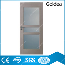 Goldea modern sectional bedroom pvc door for interior prices