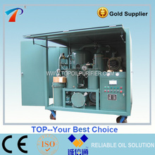 Weather proof dust resistant fully enclosed type used transformer oil filter machine