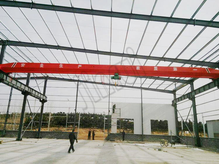 2 ton 3 ton 20 ton Plant Indoor Warehouse Lifting Single Girder Overhead Crane
