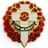 Custom Quality Lapel Pin Remembrance Day Badge