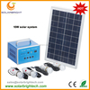 Solarbright portable mini LED rechargeable solar indoor solar rechargeable lighting systems electric generator solar