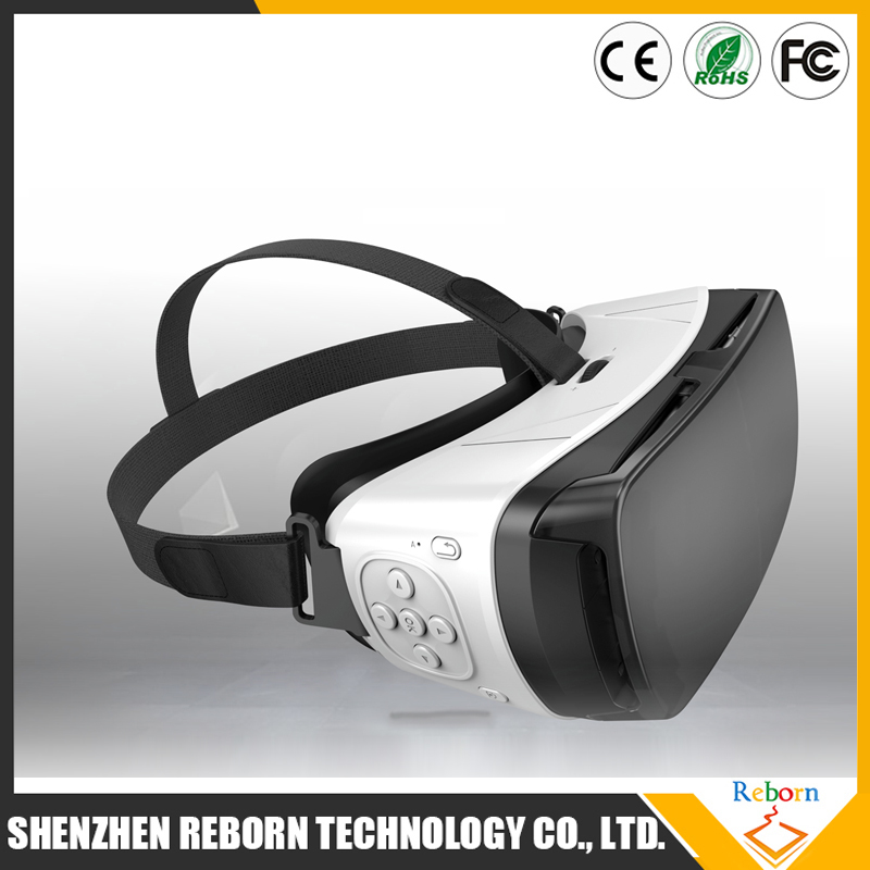 Product Details All in one Virtual Reality 3D Glasses, Adjustable Rechargeable Head Mounted VR Headset 3D Video Movie games