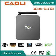 Factory Supplier amlogic s912 tv box with high quality