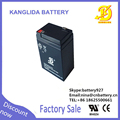 mini 6v rechargeable battery,battery 6v,3ah emergency light battery
