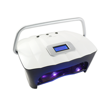 Different Cordless 54W LED UV Nail Dryer two handed fan nail lamp with Rechargeable Battery