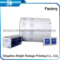 antiseptic cleaning wipe packaging paper