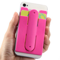 Hot Sale Silicone Lazy Phone Holder Back 3M Sticky Stand For Smart Phone