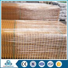 Wholesale Professional Supply Black Galvanzied Welded Wire Mesh Fence Panels