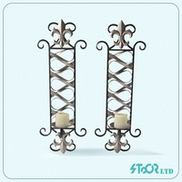 Wholesale metal wire hanging candelabra base india