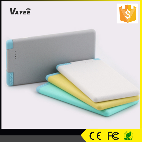 3000mah ultra thin credit card vinsic power bank