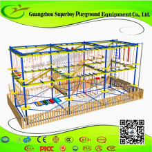 Kids Rope Course Indoor Adventure Jungle gym For kids