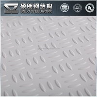 Factory Supplied FRP Non Skid Boat Deck Flooring For Boats