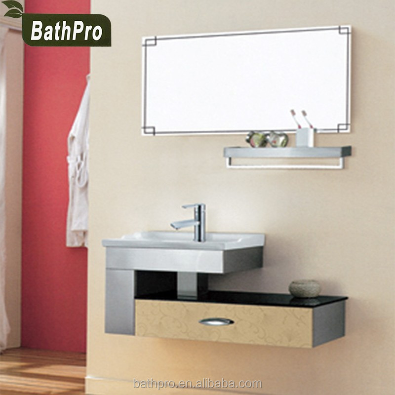 Cheap price european modern style waterproof bathroom <strong>cabinet</strong> with wash basin