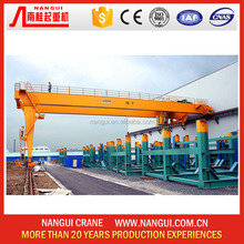 Outdoor Douber Girder Semi Gantry Crane
