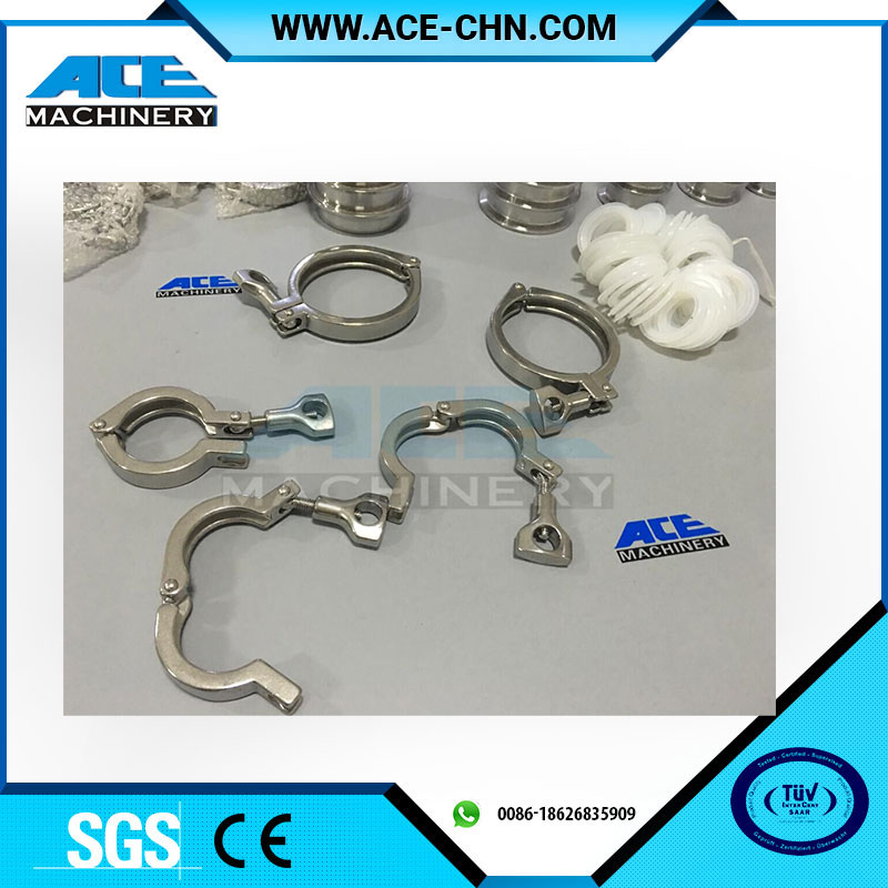 Sanitation Stainless Steel Pipe Hanger Pipe Holder Pipe Clamp