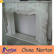 Fireproof material indoor used fireplace surround mantel NTMF-F797A
