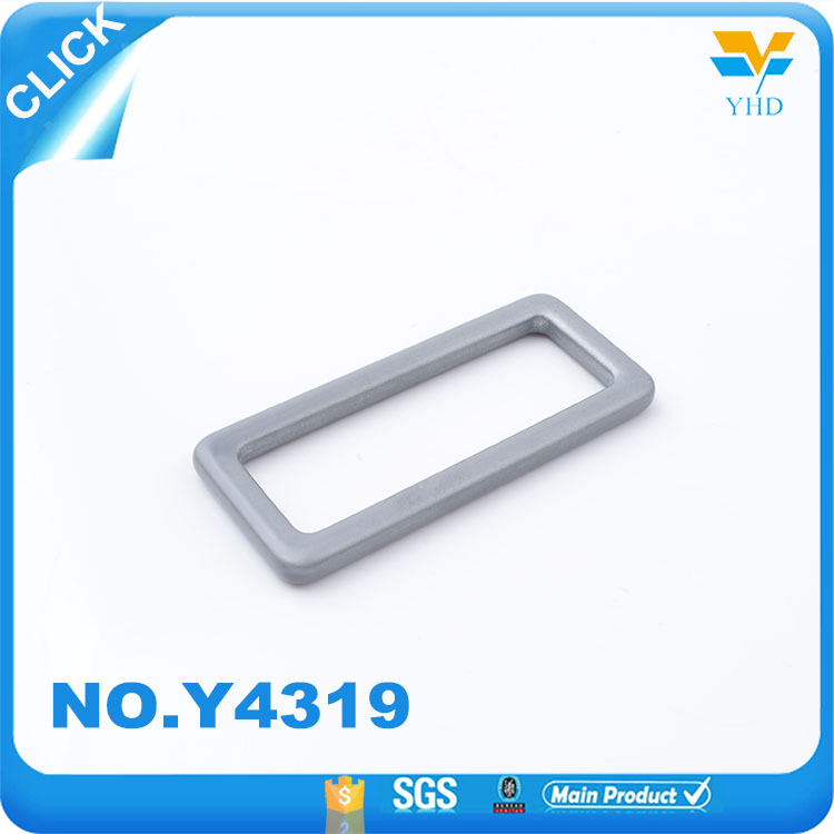 Hot sale metal hardware parts zinc alloy metal accessories square ring