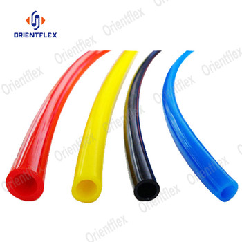 6mm pneumatic flexible 6x4mm polyurethane pu tube manufacturer price