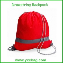 Waterproof 420D Polyester Drawstring Bags