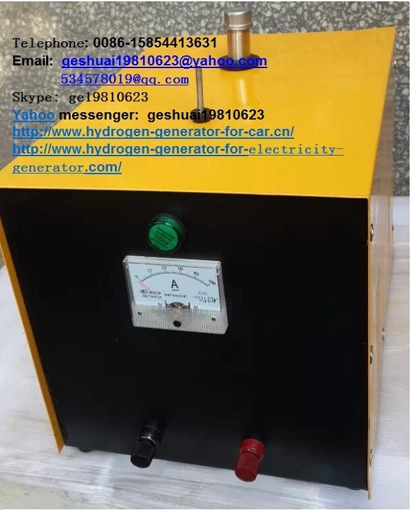 HHO hydrogen generator fuel saver for car truck, genset