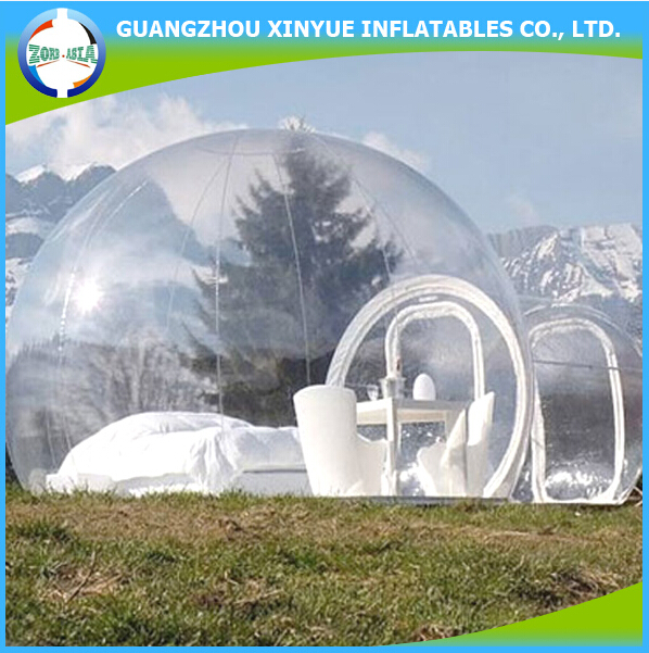 Hot sale inflatable pvc clear igloo inflatable party tent winterized