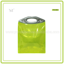 High Quality Waterproof Travel Zippered Pvc Cosmetic Bag Toiletry Bag