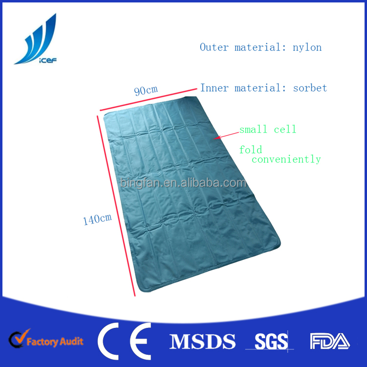 Gel Smoothie Cooling Bed Mat Cold Gel Pad Human Use