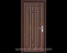 2015 new product modern solid safety wooden door design