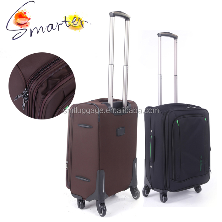 High Quality Polyester Classic EVA Suitcase