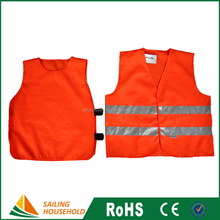 Cheap reflective safety jackets, summer reflex safety vest, promotional custom safety vest