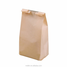cheap large brown kraft paper grocery carrier bags without handle