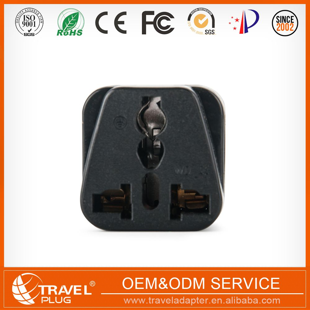 2017 promotion advertising Wholesale south africa plug 10a 250v plug adapter