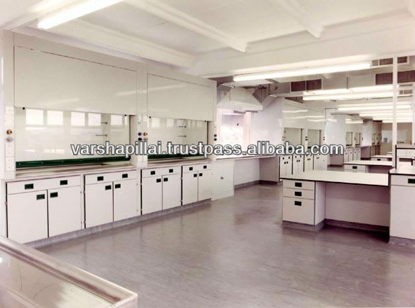 Wall wet Benches / School lab furniture