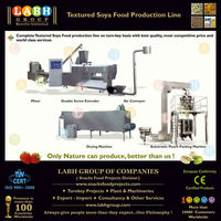 Soy Nuggets Chunks Processing Making Production Plant Manufacturing Line Machines for El Salvador