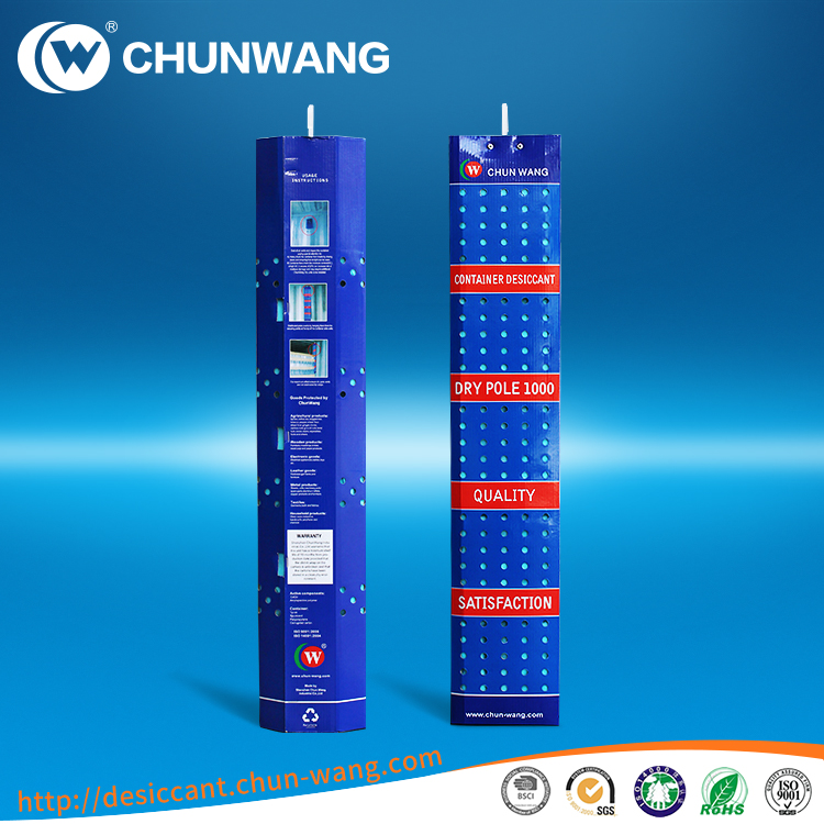 Hot Selling 1kg Container Moisture Absorb Pole for Sea Shipping