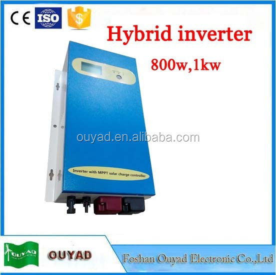 dc to ac inverter 300w~5kw off grid inverter with mppt controller inside