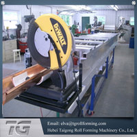 Low price supplier used gutter machines for sale