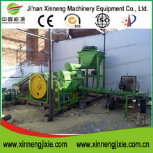 2015 High quality screw type wood sawdust briquette press machine
