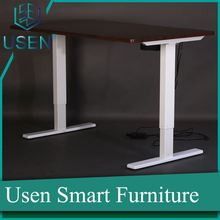 height adjustable executive office desk