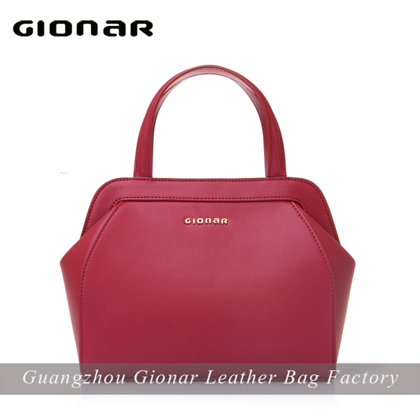Wholesale Real Genuine Nappa Leather Shell Handbag from China