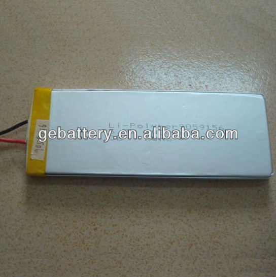 9059156 rechargeable 3.7V 10AH high capacity li-polymer battery