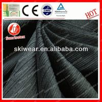 antistatic fireproof ponte jacquard knitted fabric