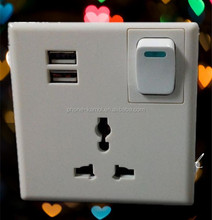 cheap price electrical switch and socket with usb wall switch