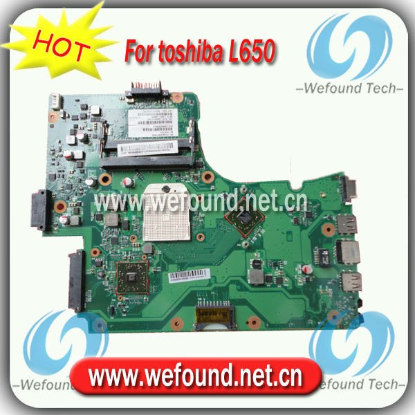 Hot sale 100% working laptop motherboard For toshiba L650 AMD Integrated V000218020