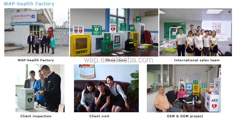Trade Assurance WAP-health factory direct sale any color aed for emergency use