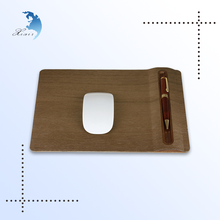 Christmas Promotional Gift Comfort Wooden Mouse Pad for PC Keyboard