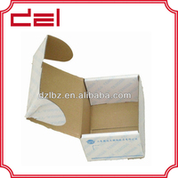 e-flute colored cardboard carton box