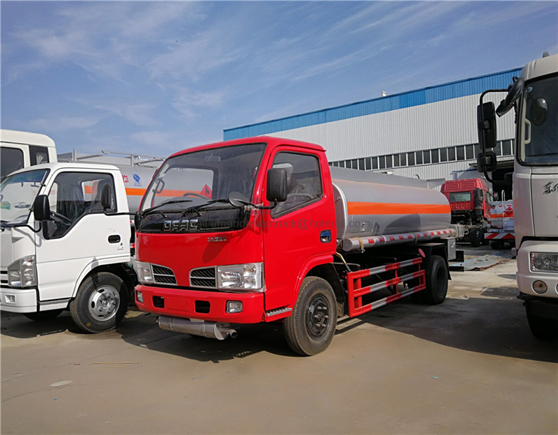 Dongfeng right hand drive truks for diesel fuel tank oil diffuser mobile fuel station